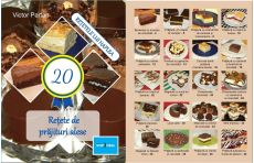 """A apărut cartea """"20 de rețete de prăjituri alese"""", autor Victor Partan, detinatorul blogului http://retete-haplea. ro/"""